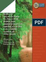 MARCOS LEGALES PARA EL PAGO POR SERVICIOS AMBIENTALES EN AMERICA LATINA Y EL CARIBE