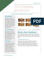 mitochondrial myopathy