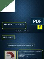 Apendicitis Cecii