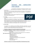 Documento Criterios de Selección general  y Por Área