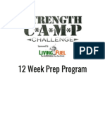 12 Week Challenge Program