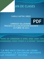 Plan de Clases Gv Octubre 2011