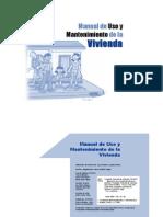 Manual de Uso y Mantenimiento de Vivienda