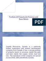 Capella Resources, Canada