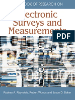 Electronic Surveys and Measurements