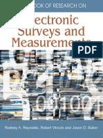 Electronic Surveys and Measurements