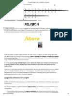 Concepto de religión