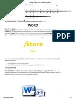 Concepto de Word