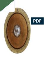 Escudo Griego Con Grabado Centr