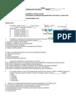 Bio 140 Exam 4 Fall 2015