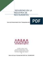 Salud y Seguridad en La Industria de Restaurantes