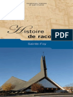 Histoire de Raconter Sainte-foy