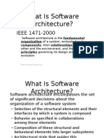 6- Software Architecture
