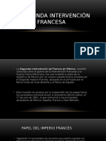 La Segunda Intervención Francesa