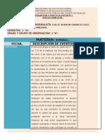 Diario 2° Jornada de Práctica.