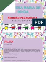 Reunião Pedagógica - Projeto Pirilim pim pim