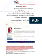 [Braindump2go] 70-573 Book PDF Free Download 171-180