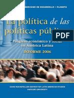 La politica de las políticas
