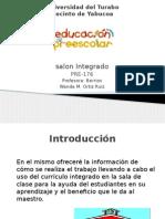 universidad del turabo salon integrado  informe oral