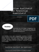 penelitian kualitatif & kuantitatif