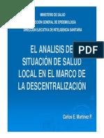 ASIS LOCAL Y DESCENTRALIZACIÓN