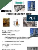 Design of Distillation Column