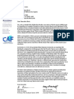 Middle East Studies Association Letter to UCLA re