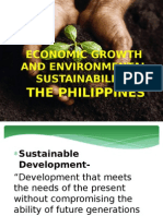 Economic Growth and Environmental Sustainability