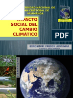Cambio Climático Impactos