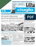 Edicion Impresa El Siglo 14-12-2015