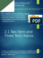2 1 2 term and 3 term ratios