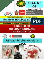 PPT CIAC Modulo IV Comunicación