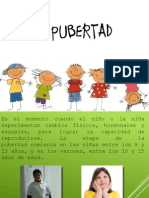 Exposicion del tema 4. Pubertad