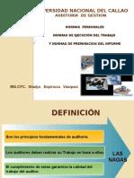 Normas de Auditoria - Nagas