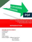 1. Land Surveys, Site Location and Map Reading-Dec6