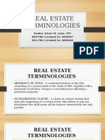 2. Real Estate Terminologies Nov22