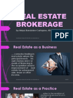 Real Estate Brokerage Dec6