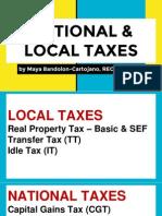 Taxation Workshop