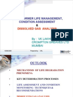Transformer Life Management Condition Assessment and Dissolved Gas Analysis