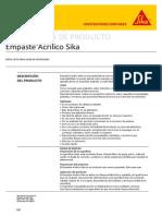 Empaste Acrilico Sika PDS