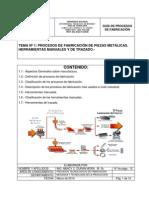 Guia Tema I. Procesos de Fabricación. Profa. Nancy Durán