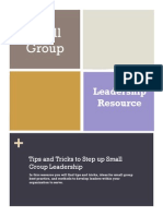 small group leadership resource