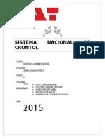 Sistema Nacional de Crontol-Auditoria