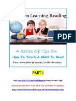 How to Teach a Child to Read - Children Learning Reading Part 1