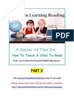 How to Teach a Child to Read - Children Learning Reading Part 2