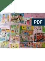 Drawings by the Pupils of Janadhipathi Vidyalaya, Matara; a Tsunami affected school, rebuilt