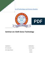 Sixth Sence File