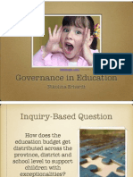 evidence governance inquiry presentation