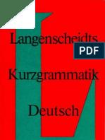 Langenscheidt Kurzgrammatik