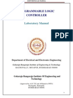 PLC Lab Manual